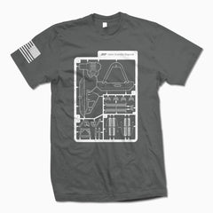 Charcoal Some Assembly Required T-Shirt