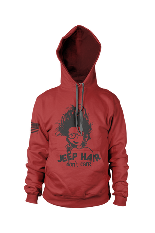 Jeep Hair Don't Care Hoodie