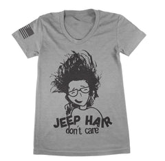 Jeep Hair Don't Care TShirt - Jeep Threads