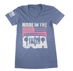 Made In The USA TShirt - Jeep Threads