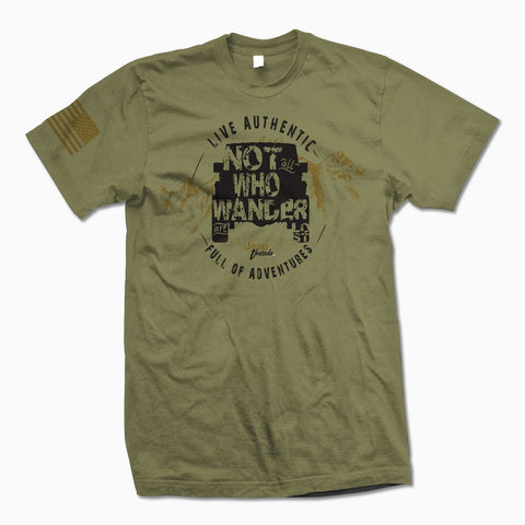 Not All Who Wander Are Lost TShirt
