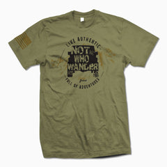 Not All Who Wander Are Lost TShirt - Jeep Threads
