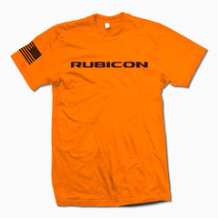 Orange Rubicon TShirt - Jeep Threads