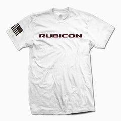 White Rubicon TShirt - Jeep Threads