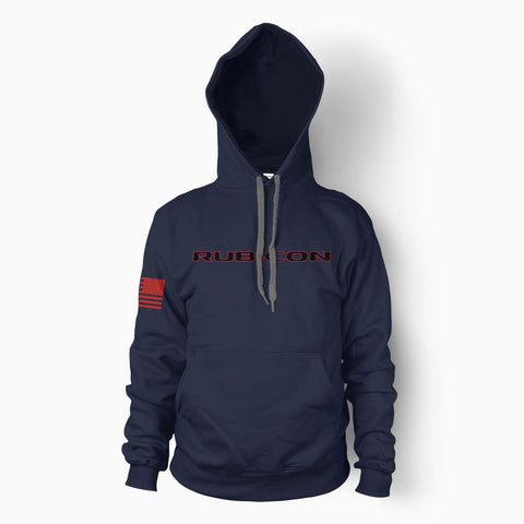 Navy Rubicon Hoodie - Jeep Threads
