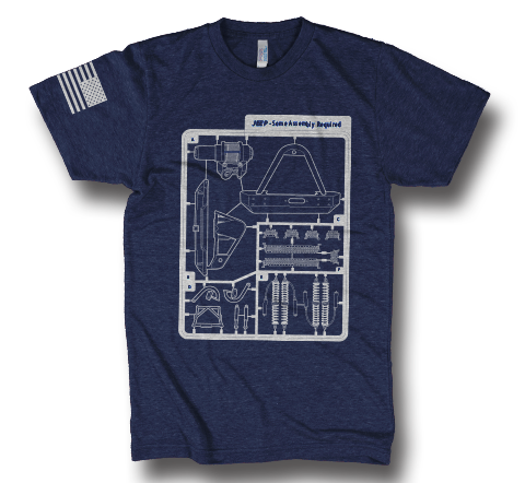 Navy Some Assembly Required TShirt