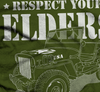 Image of Respect Your Elders Close Up TShirt - Jeep Threads