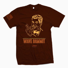 Wave Dammit TSHirt - Jeep Threads