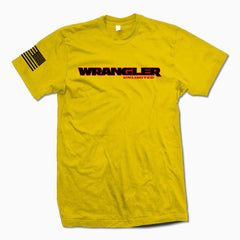Yellow Wrangler Unlimited TShirt - Jeep Threads