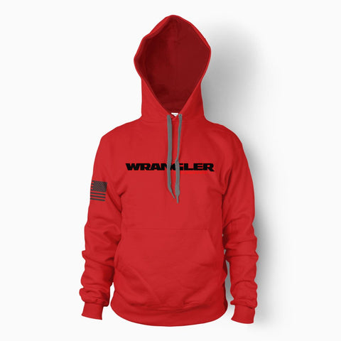 Red Wrangler Unlimited Hoodie