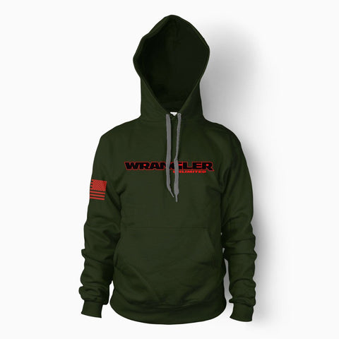 Forest Green Wrangler Unlimited Hoodie