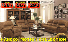 Hancox Reclining Set 50% off retail