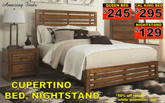 Cupertino bed 50% off
