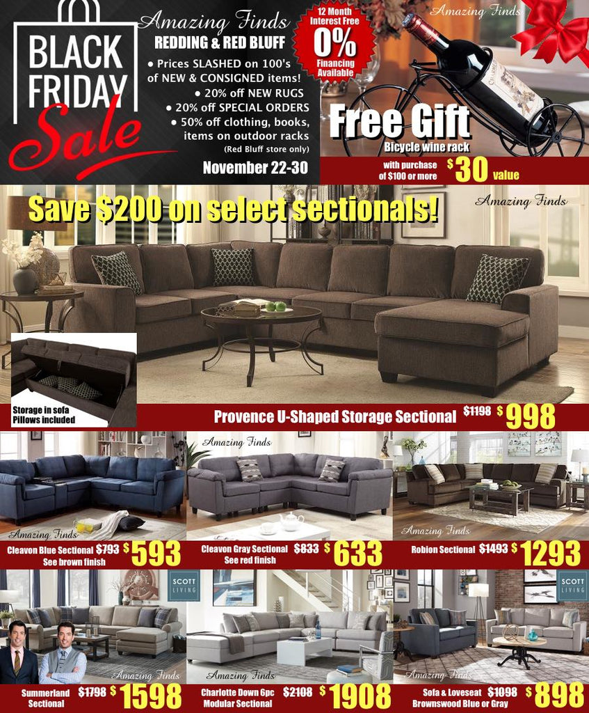 Black Friday Sale at Amazing Finds!