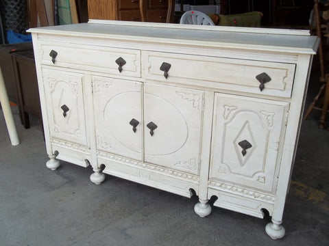 Antique Shabby Chic Buffet 20112