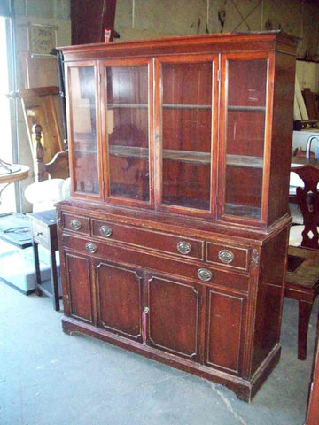 DEAL OF THE DAY 8/20/17: Antique China Hutch 19072, Was $425, Today Only  $212!
