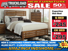 NEW Cupertino bed 50% off