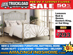 NEW Lemoore bed 50% off