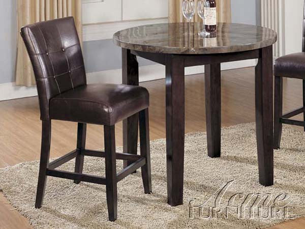 Danville Counter Height Chairs Acme Ac 07055