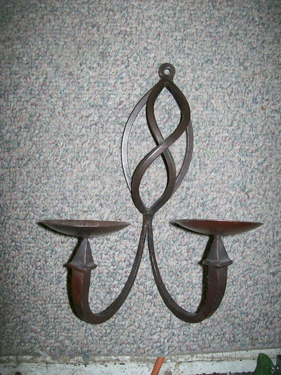 Wall candle holders 12591