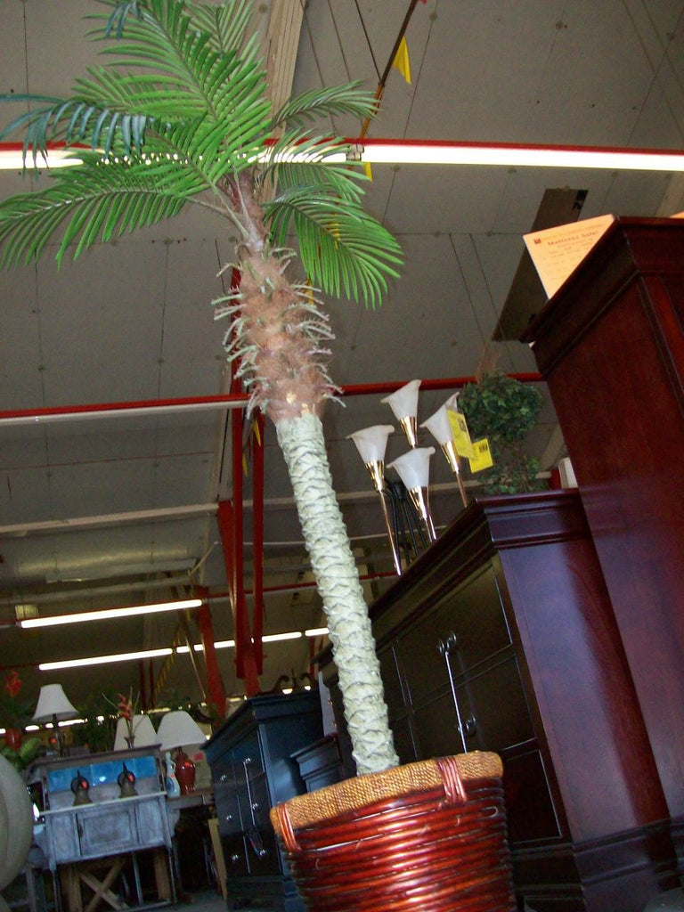 Faux palm tree 15107