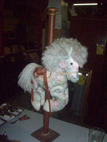Carousel horse stuffed animal 16689