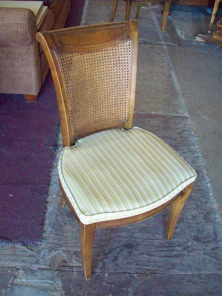 Pecan dining chair 17682