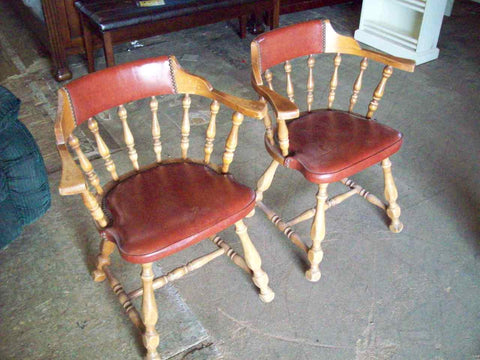 Captains dining chairs 18184