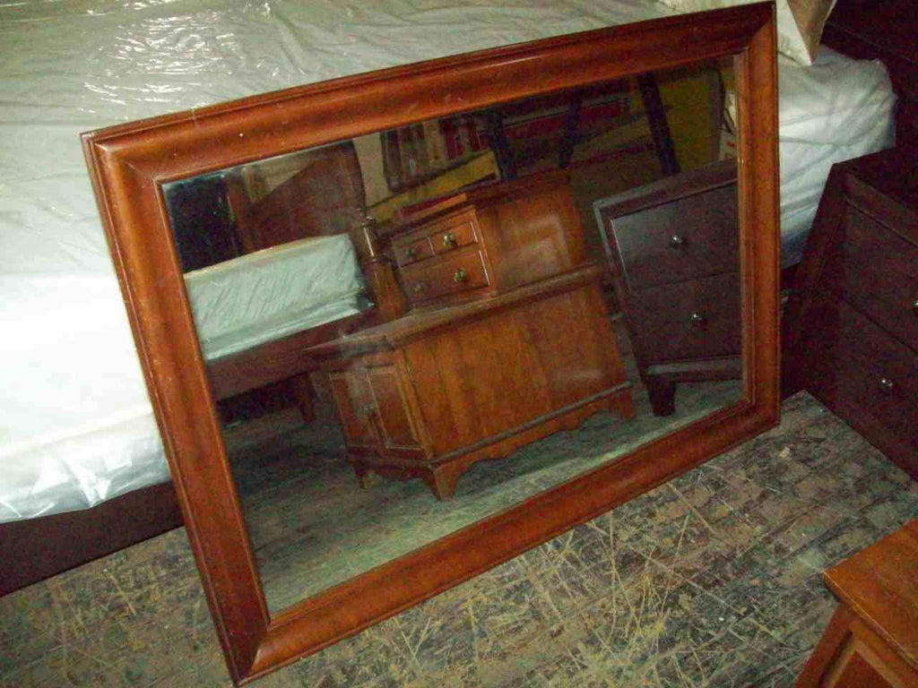 National Furniture Co. cherry mirror 18189