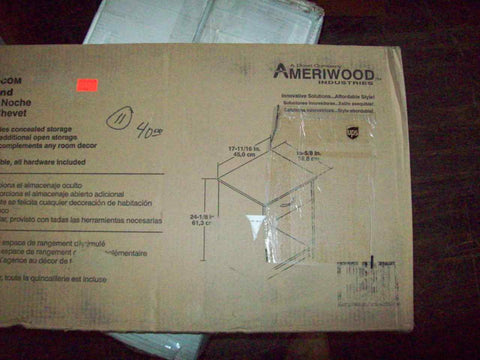 Ameriwood altracore night stand NEW 18255