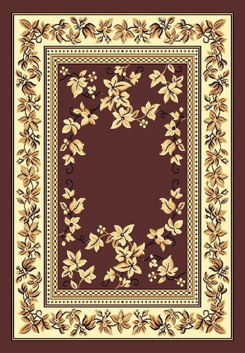 Persian Weavers Tajmahal rug 5x7 brown PW-TAJ-1071033