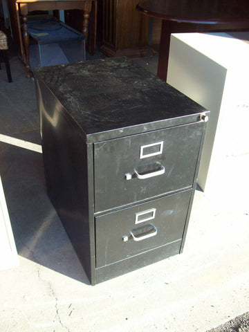 2 drawer legal size file cabinet 19338