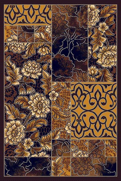 Persian Weavers Gallery rug 5x7 black PW-GAL-2901432