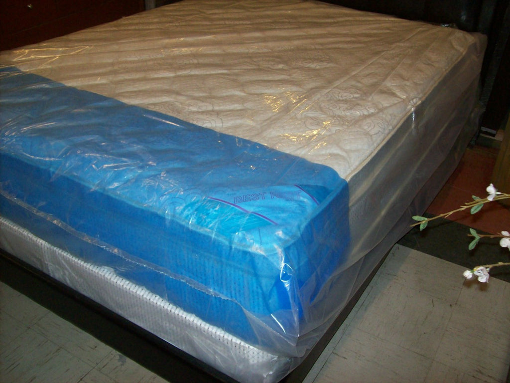 Queen Euro top Factory Select double pillow top set NEW SV-1096S