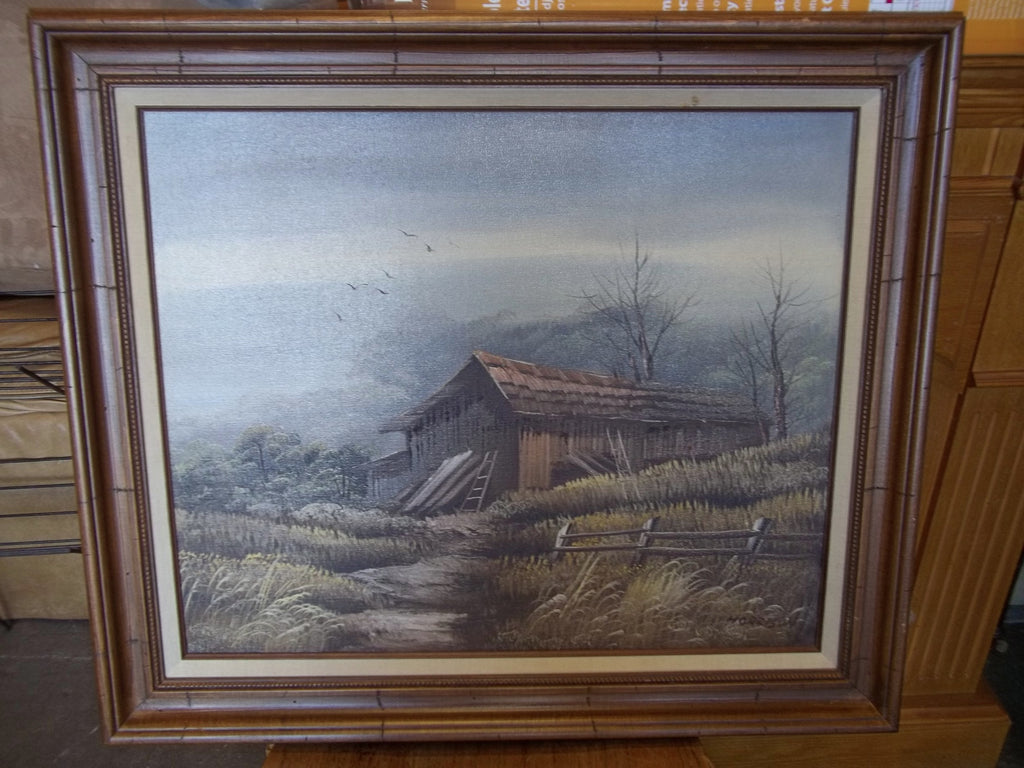 Certified original oil painting 19975