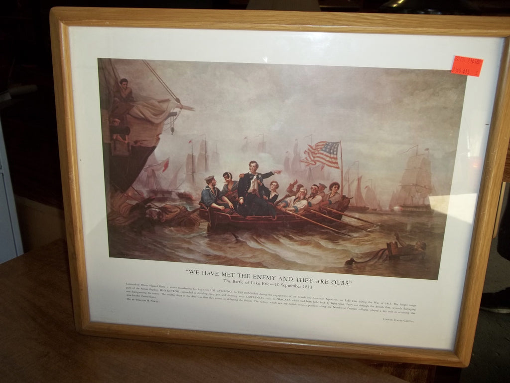 Print of Battle of Lake Erie 20139