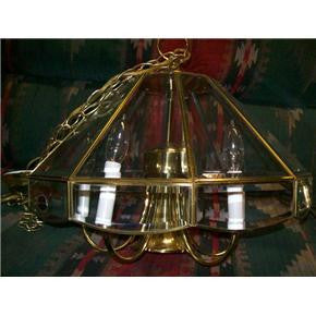 Brass chandelier 1123812