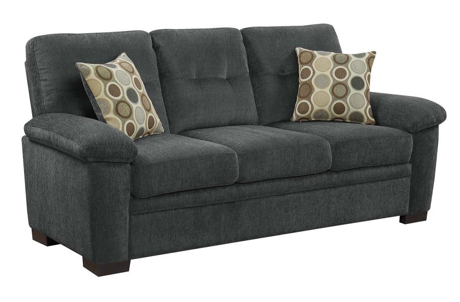 FairBairn charcoal sofa CO-506584