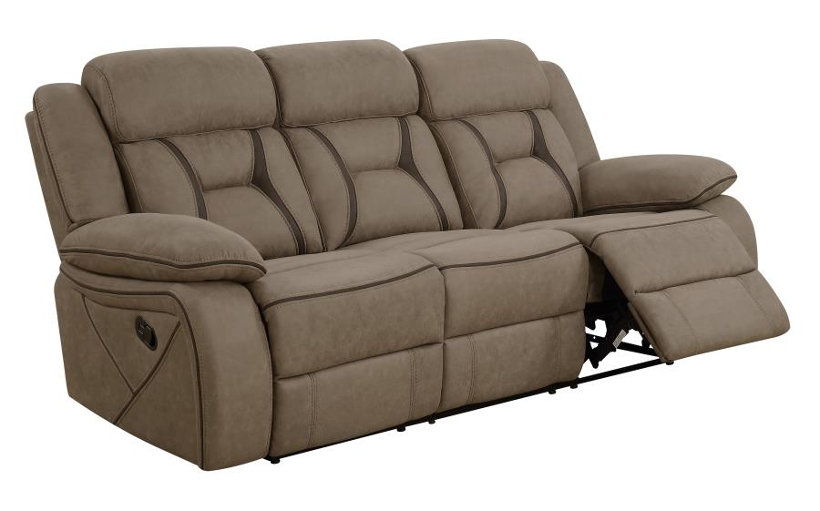 Houston tan reclining sofa CO-602264