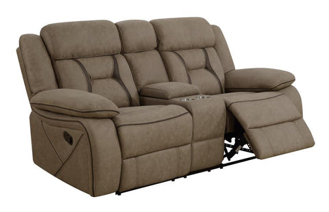 Houston tan reclining loveseat CO-602265
