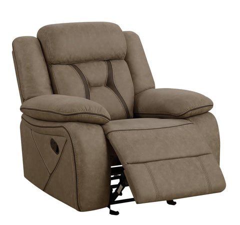 Houston tan glider recliner CO-602266