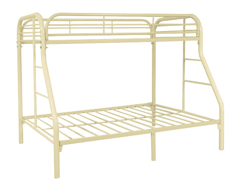 Bunkbed twin/full white BE-4502-WH
