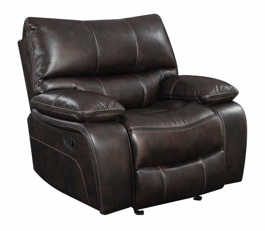 Willemse recliner leatherette brown NEW CO-601933