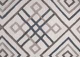 CLEARANCE 50% OFF Geometric 100% wool area rug 8x10 NEW by Donny Osmond, Coaster CO-970204L