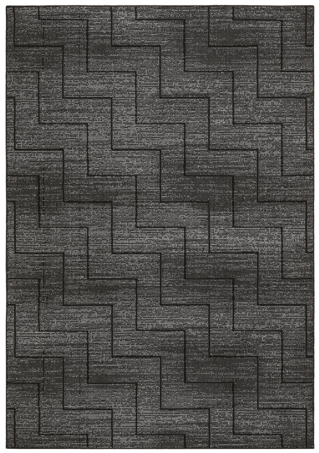 CLEARANCE 50% OFF Area rug gray and black Millenium Plus 8x10 NEW by Coaster CO-970174L