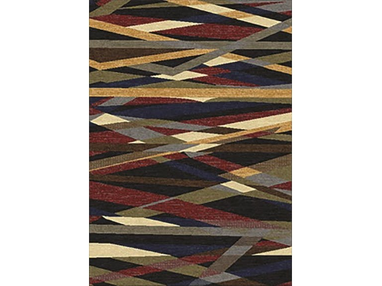 CLEARANCE 50% OFF Area rug contemporary style multi color 8x10 NEW by Coaster CO-970231L