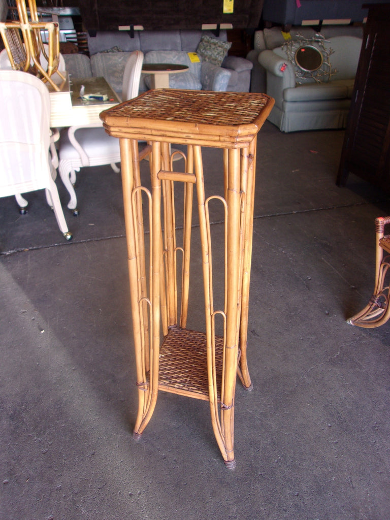 Rattan plant stand 20759