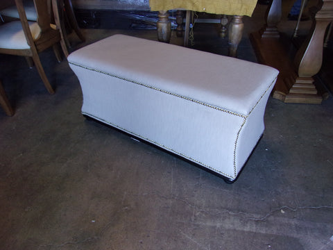 Nail studded storage bench 20804