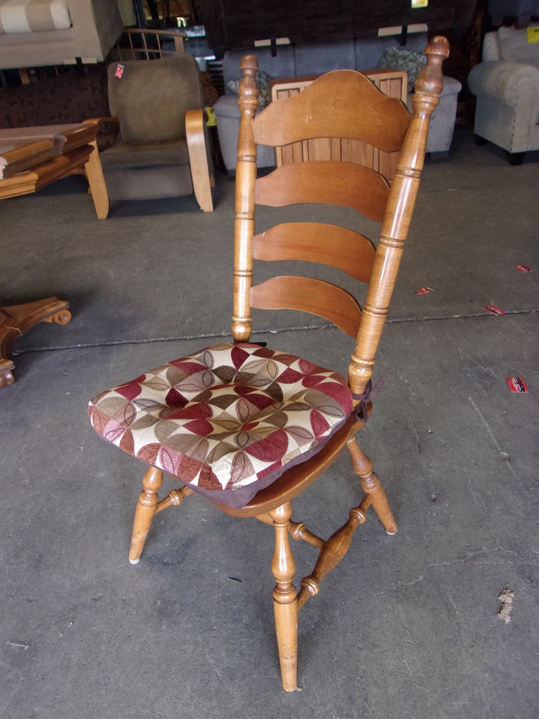 Ladder back maple chairs 20707.1