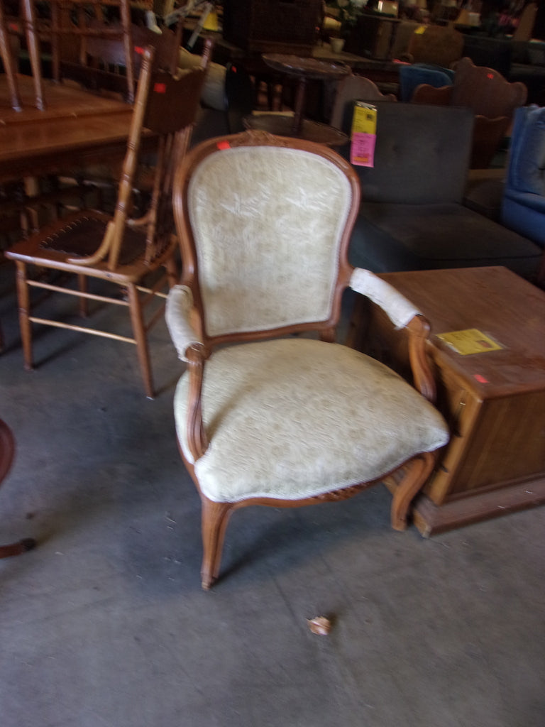 111. Antique Accent Chair 20873